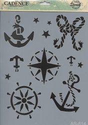 cadence stencil sablon série A4   AS-514 21*29