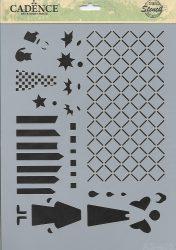 cadence stencil sablon série AS-403 15*20