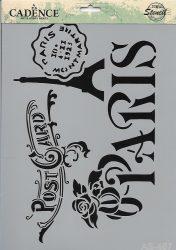 cadence stencil sablon série AS-46721*29