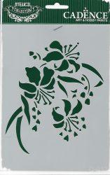 cadence stencil sablon série k-913  20*15cm