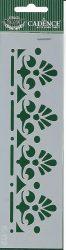 cadence stencil sablon série K-112 20x6cm