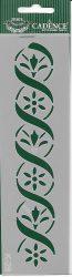cadence stencil sablon série k-28  20*6cm