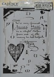 cadence stencil sablon série MA-03 21*29