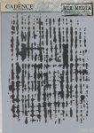 cadence stencil sablon série A4   MA-13  21*29