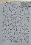 cadence stencil sablon série A4   MA-18  21*29