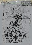 cadence stencil sablon série MA-68 21*29