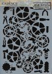 cadence stencil sablon série A4 MA-82  21*29