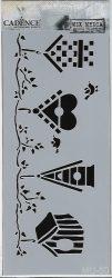 cadence stencil sablon série  MU-50 25*10