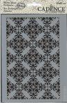 cadence stencil sablon série NBS -002 csipke háttér  15*20cm