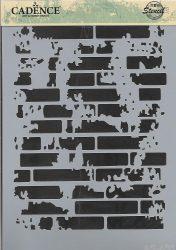 cadence stencil sablon série A4   AS-466 21*29