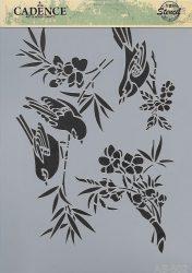 cadence stencil sablon série A4   AS-502 21*29