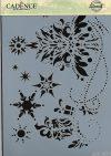 cadence stencil sablon série A4 AS-501 21*29