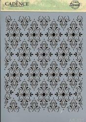 cadence stencil sablon série A4 AS-521 21*29