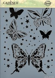 cadence stencil sablon série A4 AS-529 21*29