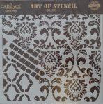 cadence stencil sablon Grunch  kollekció GCS-004 25*25cm