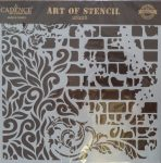 cadence stencil sablon Grunch  kollekció GCS-005 25*25cm