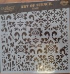 cadence stencil sablon Grunch  kollekció GCS-008 25*25cm