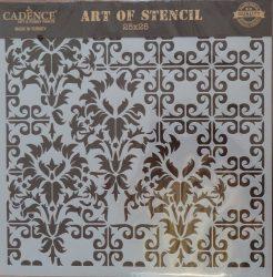 cadence stencil sablon Grunch  kollekció GCS-009 25*25cm