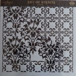 cadence stencil sablon Grunch  kollekció GCS-009 45*45cm
