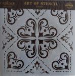 cadence stencil sablon csempe  kollekció TCS-015 30*30cm