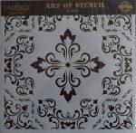 cadence stencil sablon csempe  kollekció TCS-018 30*30cm