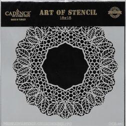 cadence stencil sablon dekoratív  kollekció DCS-001 15*15cm