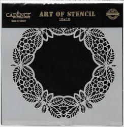 cadence stencil sablon dekoratív  kollekció DCS-005 15*15cm