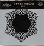 cadence stencil sablon dekoratív  kollekció DCS-015 15*15cm