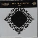cadence stencil sablon dekoratív  kollekció DCS-016 15*15cm