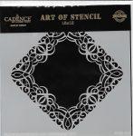 cadence stencil sablon dekoratív  kollekció DCS-018 15*15cm