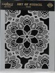 cadence stencil sablon dekoratív  kollekció DC-001 15*20cm