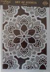cadence stencil sablon dekoratív  kollekció DC-001 25*36cm