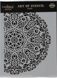 cadence stencil sablon dekoratív  kollekció DC-029 15*20cm