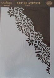 cadence stencil sablon dekoratív  kollekció DC-032 25*36cm