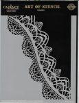 cadence stencil sablon dekoratív  kollekció DC-034 15*20cm