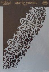 cadence stencil sablon dekoratív  kollekció DC-035 25*36cm
