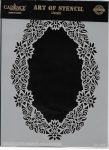 cadence stencil sablon dekoratív  kollekció DC-037 15*20cm