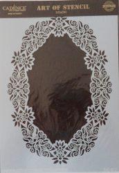 cadence stencil sablon dekoratív  kollekció DC-037 25*36cm