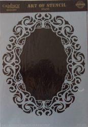 cadence stencil sablon dekoratív  kollekció DC-038 25*36cm