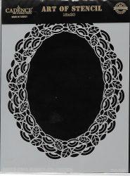 cadence stencil sablon dekoratív  kollekció DC-040 15*20cm