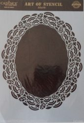 cadence stencil sablon dekoratív  kollekció DC-040 25*36cm