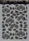 cadence stencil sablon flower kollekció FSC-002  21*29