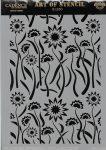 cadence stencil sablon flower kollekció FSC-007  21*29