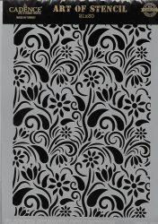 cadence stencil sablon flower kollekció FSC-008 21*29