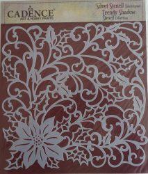 cadence stencil sablon siluet KS-182 25cm