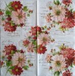 szalvéta 12B_season flowers
