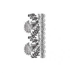 cadence transfer matrica csipkés fehér 17*25cm  DT-010