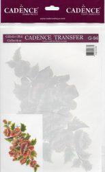 cadence transzfer matrica  színes 17*25cm  G-94